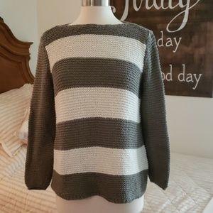 Chico's striped sweater